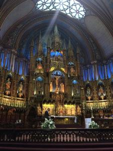 Notre Dame, Montreal.