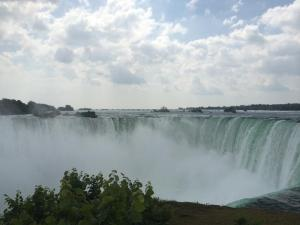 View from Niagara Falls.