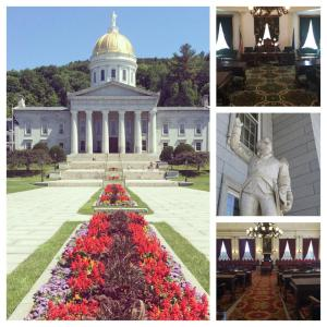 Some photos I took at the Vermont Statehouse.