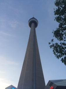 CN Tower, the world's largest tower, in Toronto.