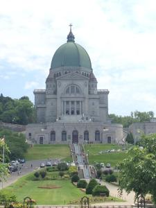 The outside of St. Joseph's Oratory.