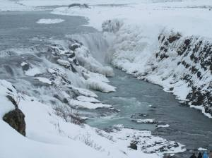 Gullfoss on the Golden Circle Drive
